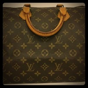 Louis Vuitton speedy 35 Authentic